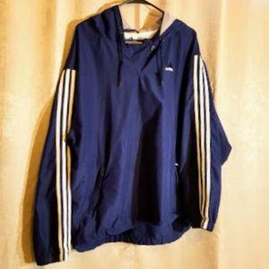 Adidas Vintage Pullover windbreaker sz M